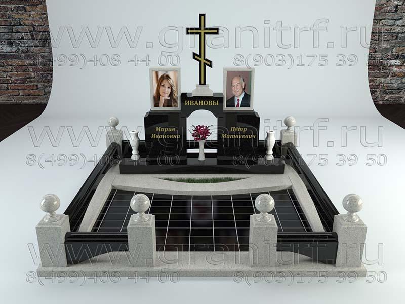 Памятник с ангелом Планерная Мемориальный комплекс с крестом Шарья